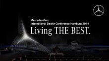 Mercedez Benz - living the Best 2014